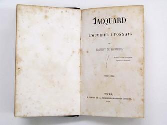 Jacquard ou l'ouvrier lyonnais / par Laurent de Voivreuil.